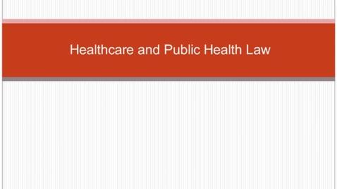 Thumbnail for entry HM804healthcarelaw