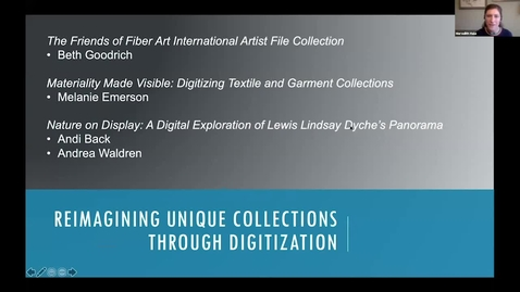 Thumbnail for entry Reimagining Unique Collections Through Digitization