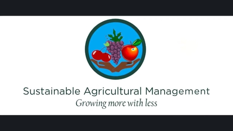 Thumbnail for entry Pesticide Management for Sustainable Vineyards