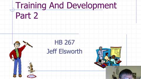 Thumbnail for entry HB 267 Training and Development Part 2