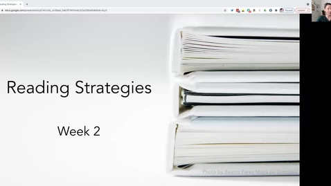 Thumbnail for entry FS21 Lecture 3: Reading Strategies