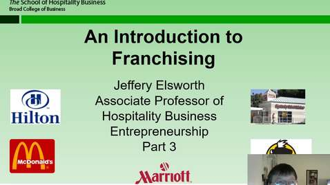 Thumbnail for entry HB 358 Franchising Part 3