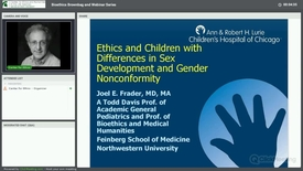 Thumbnail for entry Ethics and Children with Differences in Sex Development and Gender Nonconformity