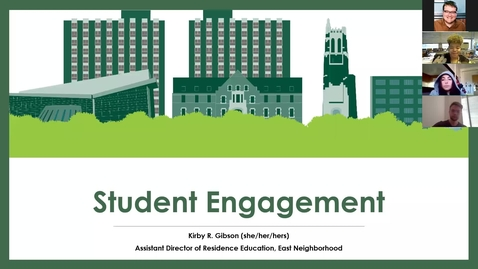 Thumbnail for entry Full Time and Graduate Live In Staff Training Community Engagement Training