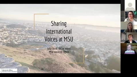 Thumbnail for entry Photovoice Project Kickoff: Sharing International Voices at MSU