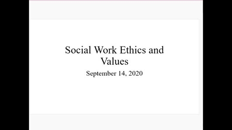 Thumbnail for entry SW 320 W2 V1 SW Ethics and Values