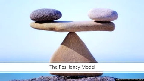 Thumbnail for entry The Resiliency Model