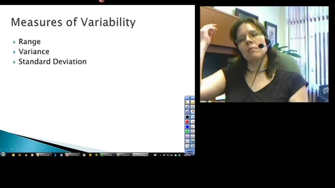 Thumbnail for entry Statistical Measures of Variability