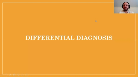 Thumbnail for entry Differential Diagnosis.mp4