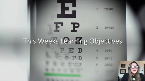 Thumbnail for entry Learning outcomes week 1