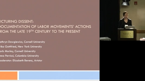 Thumbnail for entry Picturing Dissent: Documentation of Labor Movements' Actions from the Late 19th Century to the Present