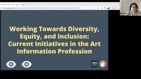 Thumbnail for entry GLAMorous Work: Praxis for Tackling Inequity in Galleries, Libraries, Archives, and Museums