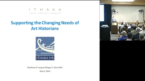 Thumbnail for entry Supporting the Changing Research Practices of Art Historians