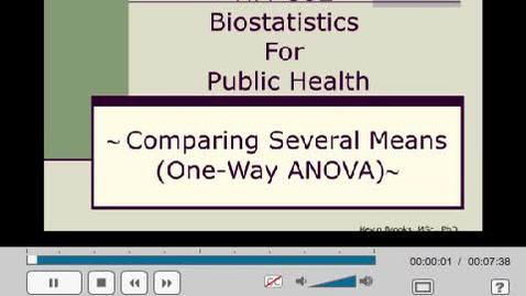 Thumbnail for entry HM802 sec730 ANOVAusingSAS