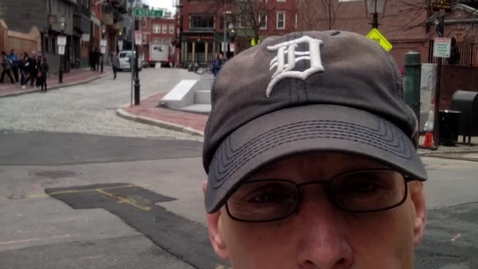 Thumbnail for entry Dr. Gary on location in Boston: The North End, Continued