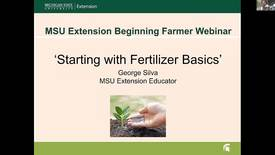 Thumbnail for entry Fertilizer basics  Feb 21 2018