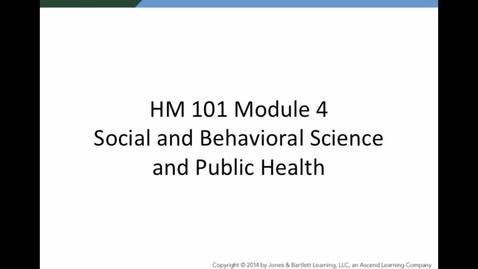 Thumbnail for entry HM 101 Module 4 Powerpoint Lecture