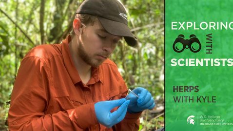 "Thumbnail for entry Exploring with Scientists:  ""How do some species avoid extinction?"