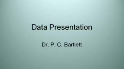 Thumbnail for entry VM_533_09032010_Data_Presentation__Bartl