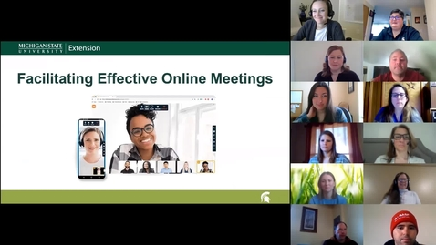 Thumbnail for entry Effective Online Meetings Webinar