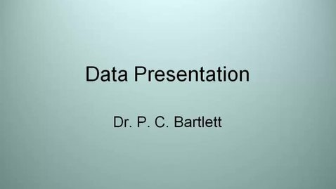Thumbnail for entry VM_533-09032010-Data-Presentation-Bartlett