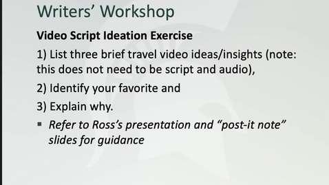 Thumbnail for entry Session11_LectureVids_FinalWritersWorkshop