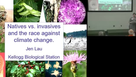 Thumbnail for entry Natives vs Invasives and the Race Against Climate Change