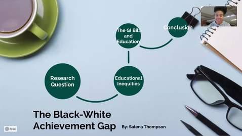Thumbnail for entry Black-White Achievement Gap Presentation