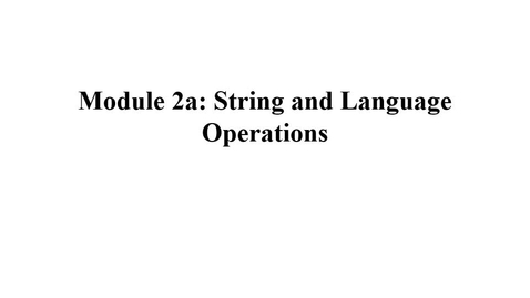Thumbnail for entry Module02a-LanguageDefinitions