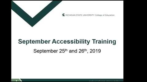 Thumbnail for entry September Training Zoom Recording