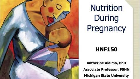 Thumbnail for entry Mini Lecture 7.1 - Pregnancy Part 1