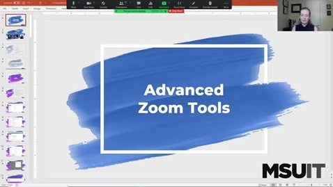 Thumbnail for entry IT Virtual Workshop - Zoom Tools for Interaction and Engagement (09.02.2021)
