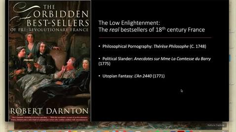 Thumbnail for entry Lecture 1.3 - Part 8 (Low Enlightenment)