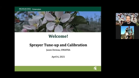 Thumbnail for entry Sprayer Calibration and Tune-up