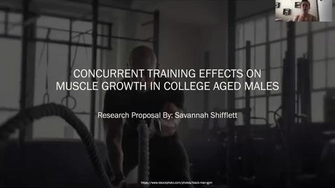 Thumbnail for entry KIN 371 Shifflett Research Proposal Presentation