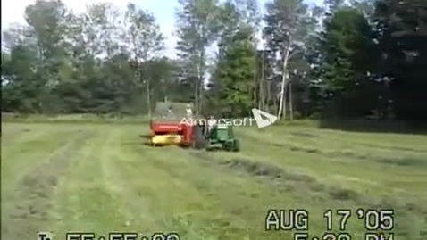 Thumbnail for entry twb-Baling Hay on farm May 17 upload
