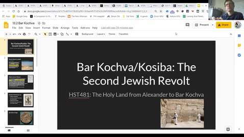 Thumbnail for entry Lecture 13.2 Bar Kochva
