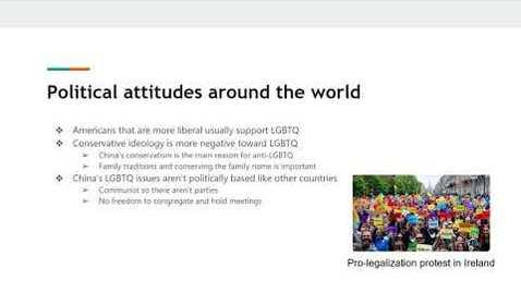 Thumbnail for entry LGBTQ in China