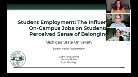 Thumbnail for entry EAD 889 On Campus Jobs GAP Presentation