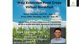 Thumbnail for entry Virtual breakfast 06/14/2018: Ehsan Ghane, Does drainage pay?