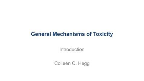 Thumbnail for entry VM 530-Gen mech of toxicity