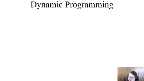 Thumbnail for entry When to use Dynamic Programming