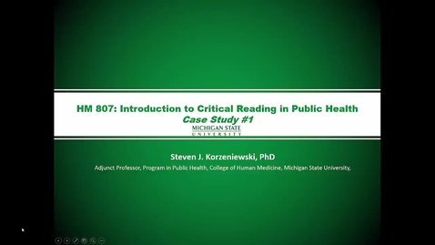 Thumbnail for entry HM807 Mod-5-Lecture-5case-study-ppt-with-audio
