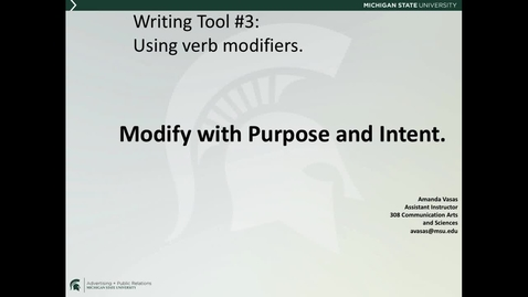 Thumbnail for entry ADV225Session2LectureVideo9_WritingTool3_WW3
