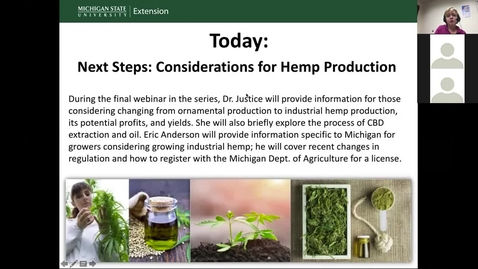 Thumbnail for entry Considerations for Industrial Hemp Production
