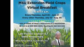 Thumbnail for entry Virtual Breakfast 6/7/18: Mike Staton, Late Soybean Planting