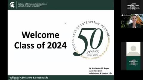 Thumbnail for entry 06.08.2020a - Virtual Orientation - OFFICIAL COLLEGE WELCOME – Dr. Andrea Amalfitano, Dean