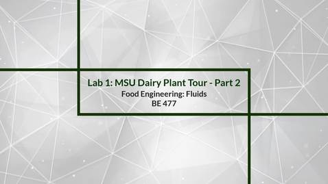 Thumbnail for entry Lab 1: Plant Tour - Part 2