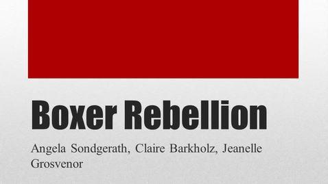 Thumbnail for entry ISS330B-003-BoxerRebellion