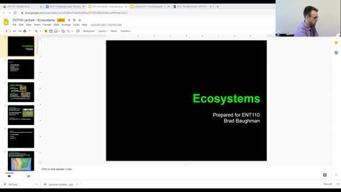 Thumbnail for entry ENT110 week 2 - Ecosystems 1